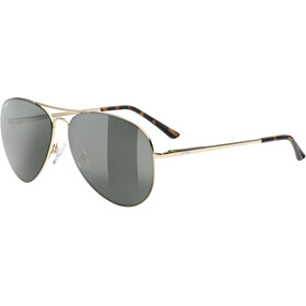 UVEX LGL 45 Polavision Glasses gold/litemirror green
